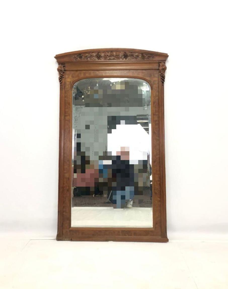 Антикварное зеркало в стиле Ар-нуво 171210002У
