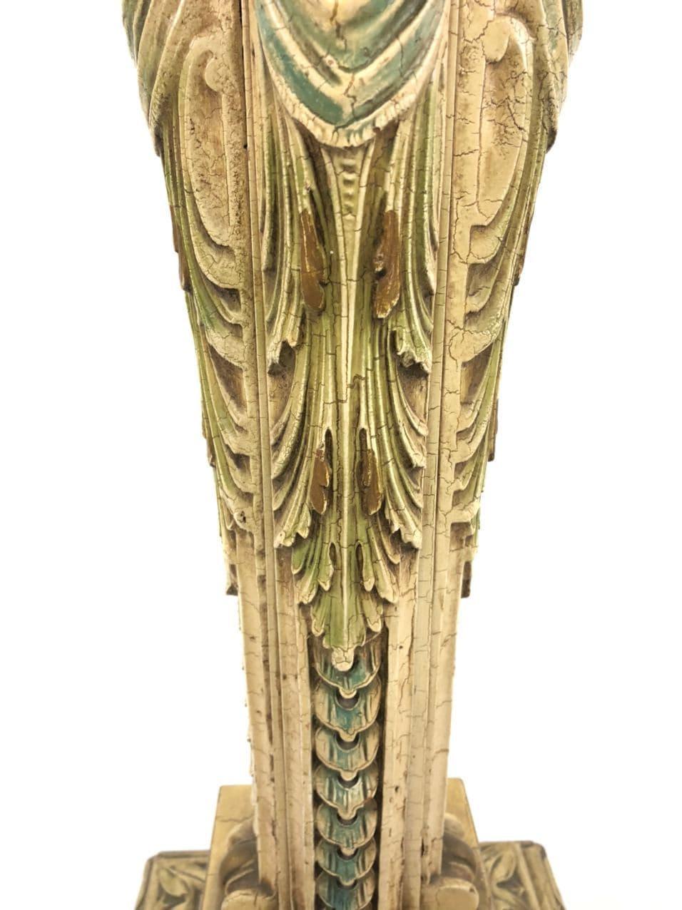 Антикварная подставка в стиле Ренессанс 190302003У