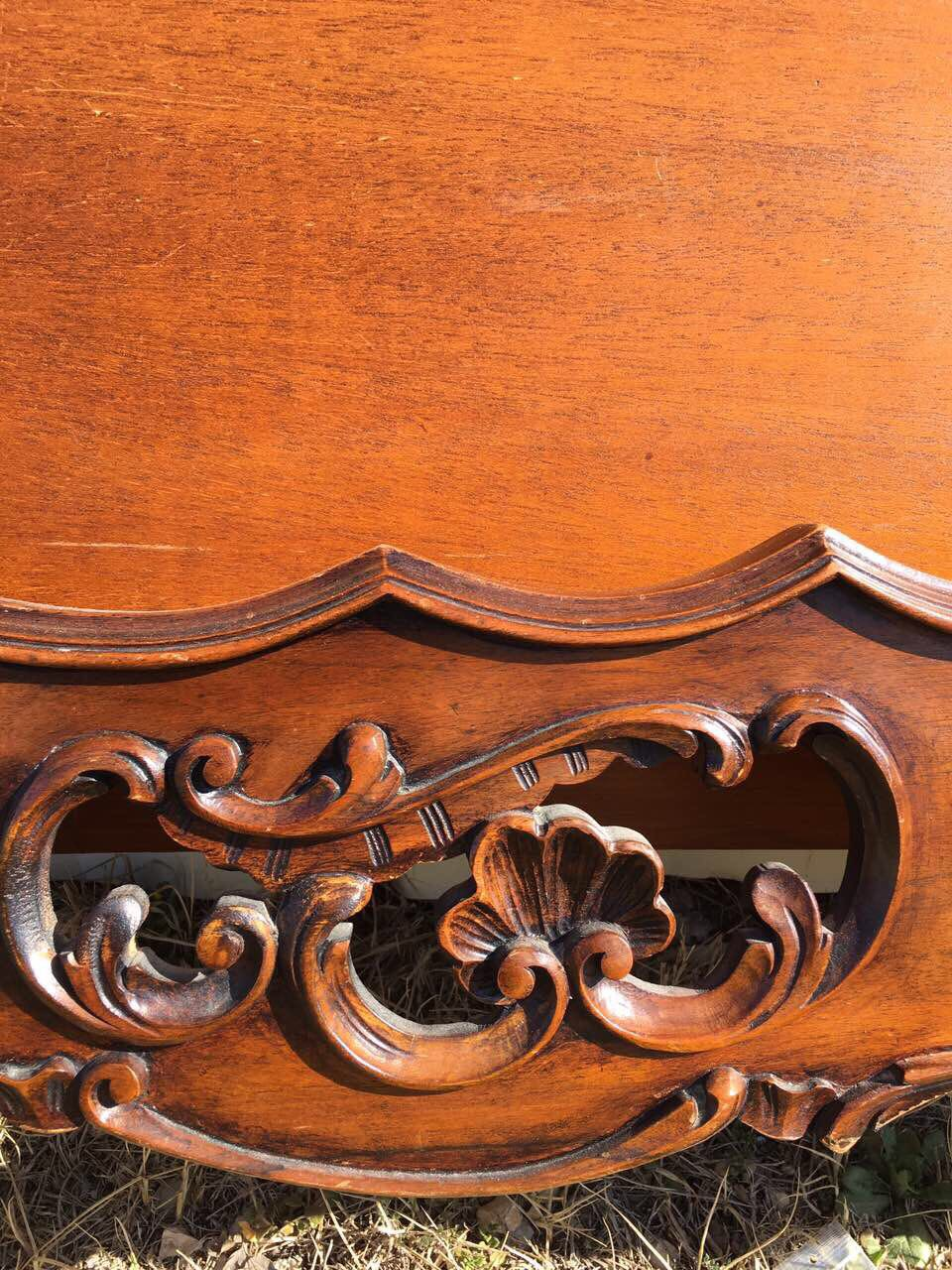 Винтажная кровать в стиле Рококо 190304003