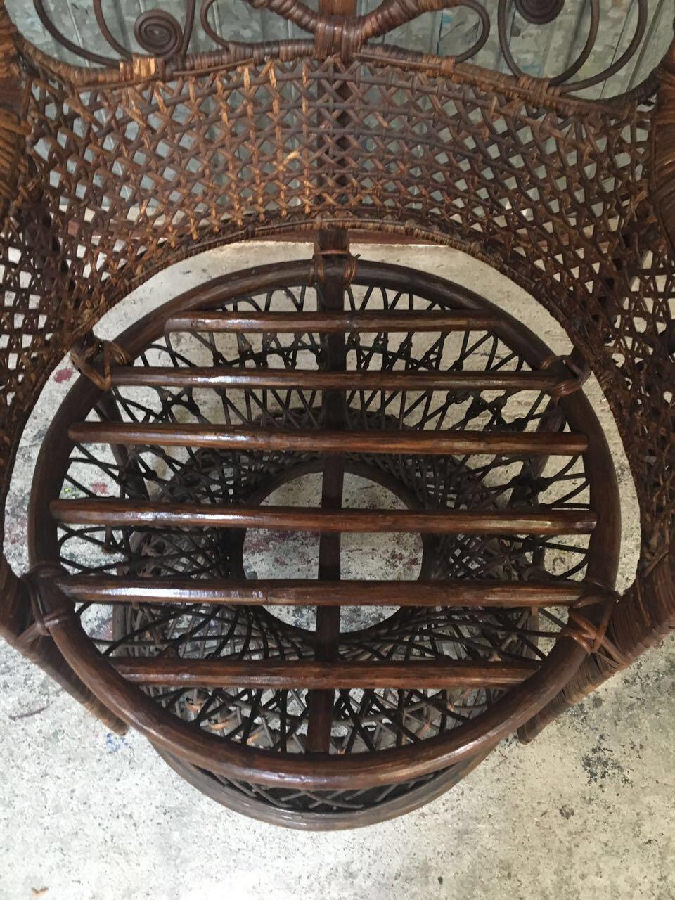 Винтажное кресло Эманнуэль 190125004