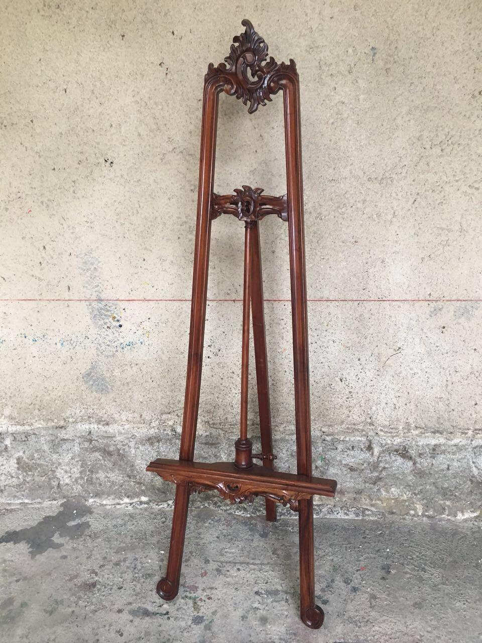 Винтажный резной мольберт в стиле Рококо 180717002