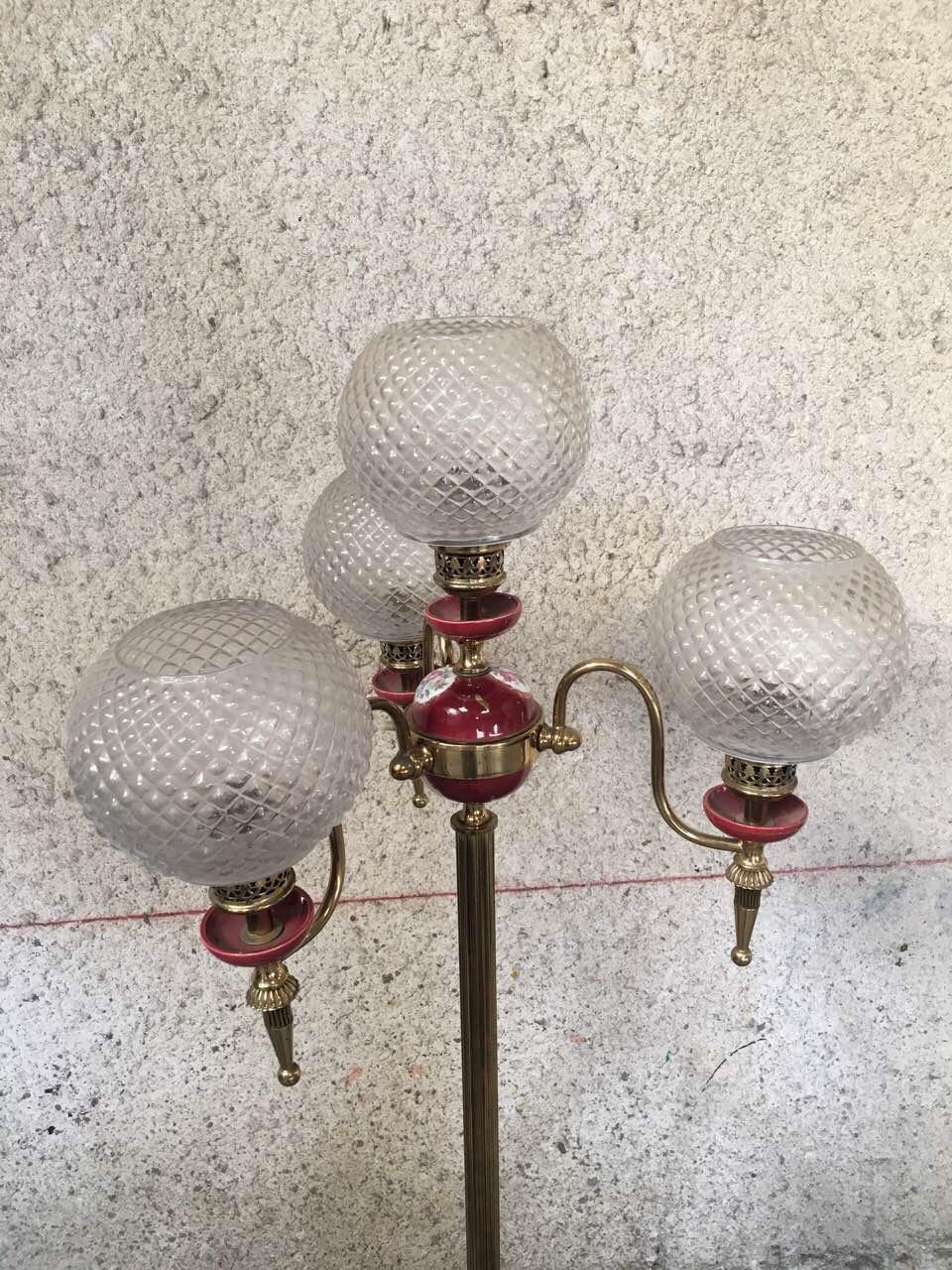 Винтажная напольная лампа 180705080