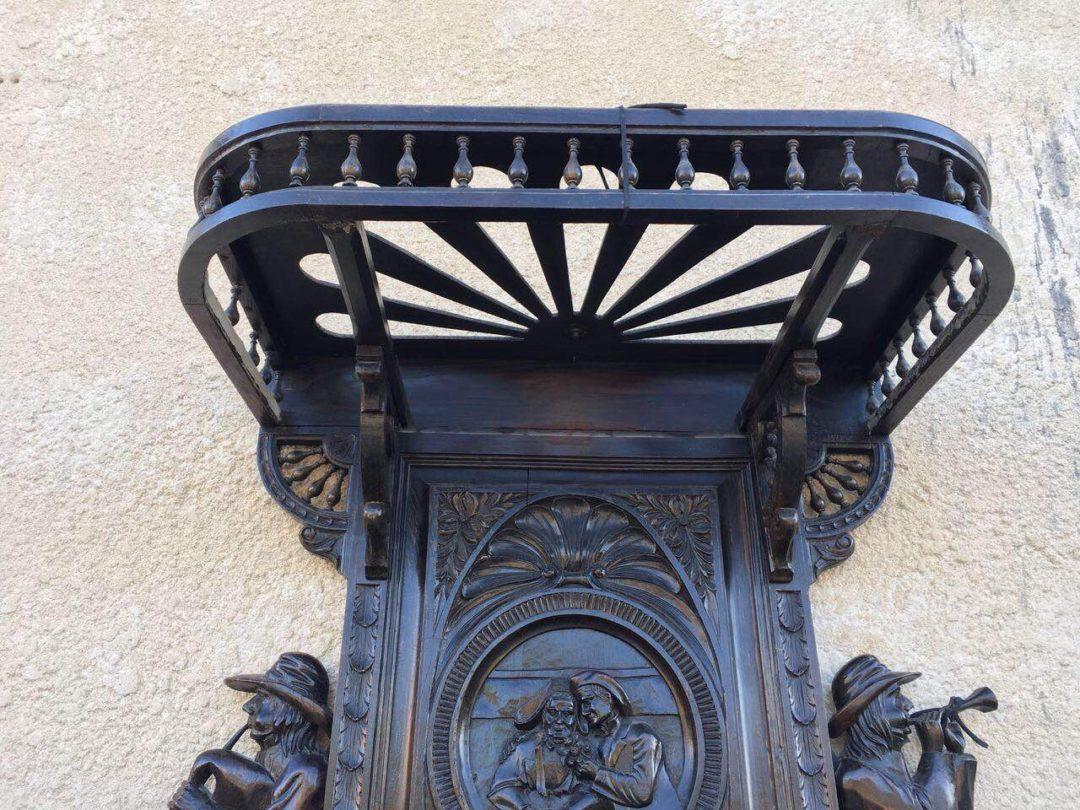 Антикварная мебель: кровать и 2 тумбочки в стиле Бретон 1812010021