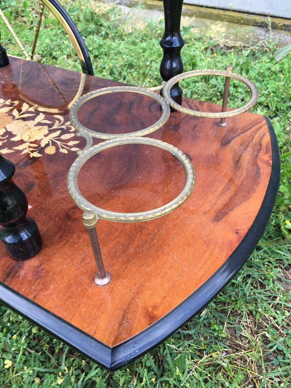Винтажный сервировочный столик 180508002