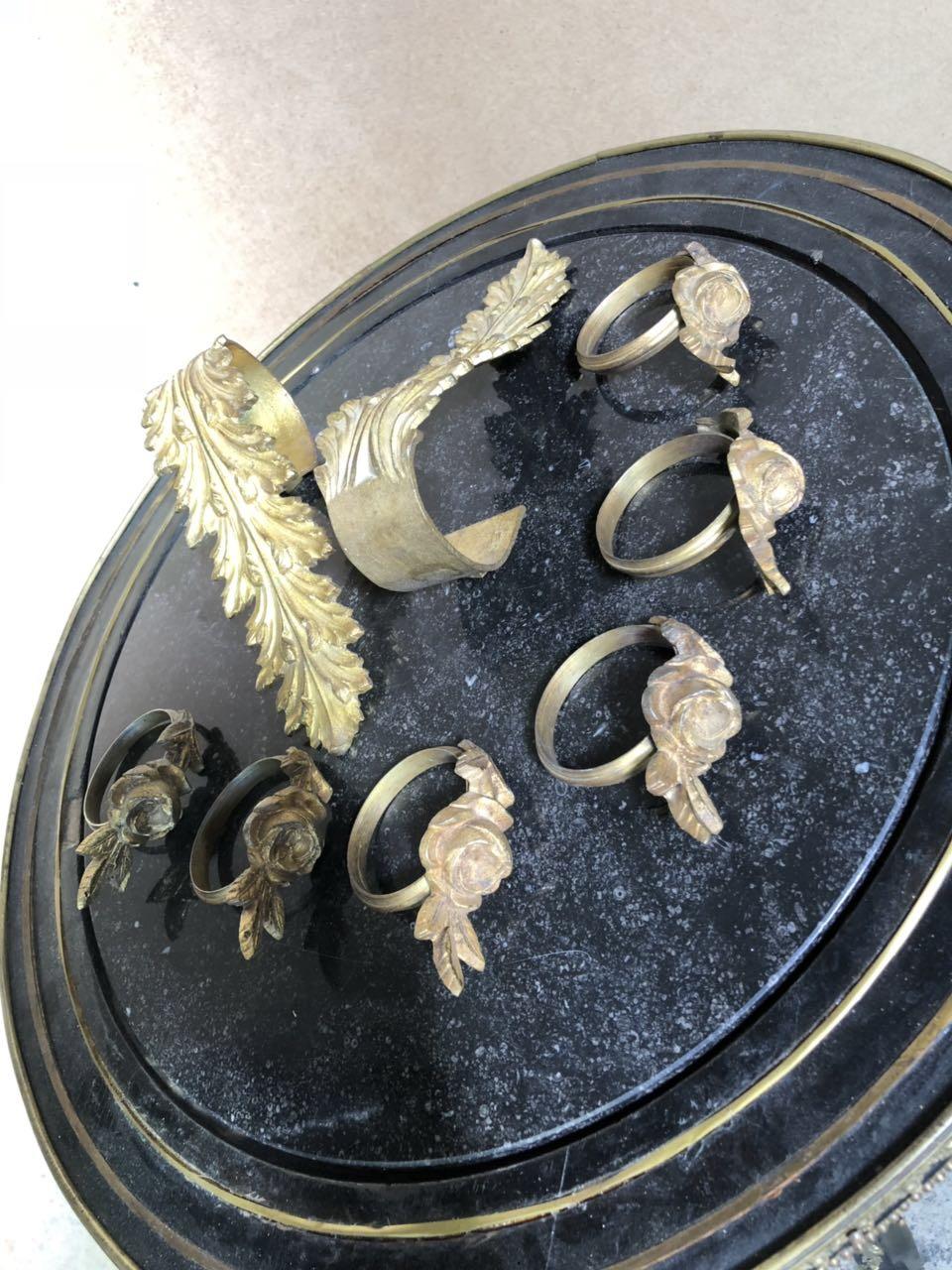 Антикварные бронзовые держатели для штор 181024040