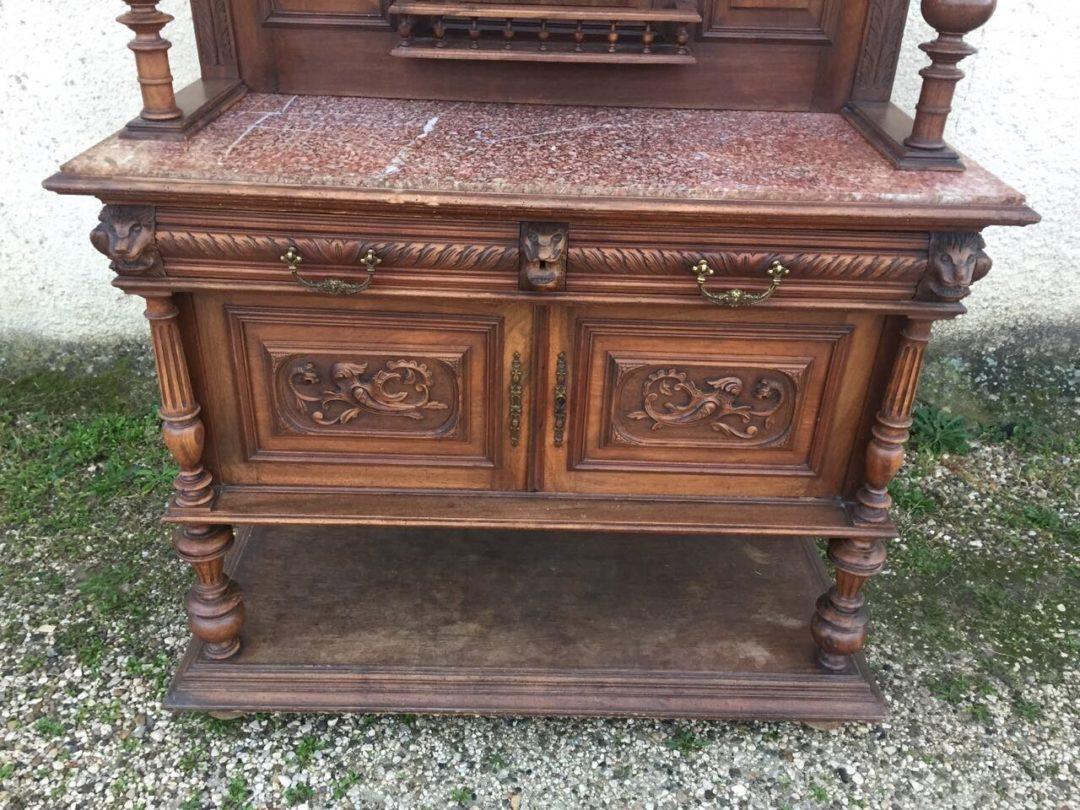 Антикварный поставец в стиле Ренесанс 151108003