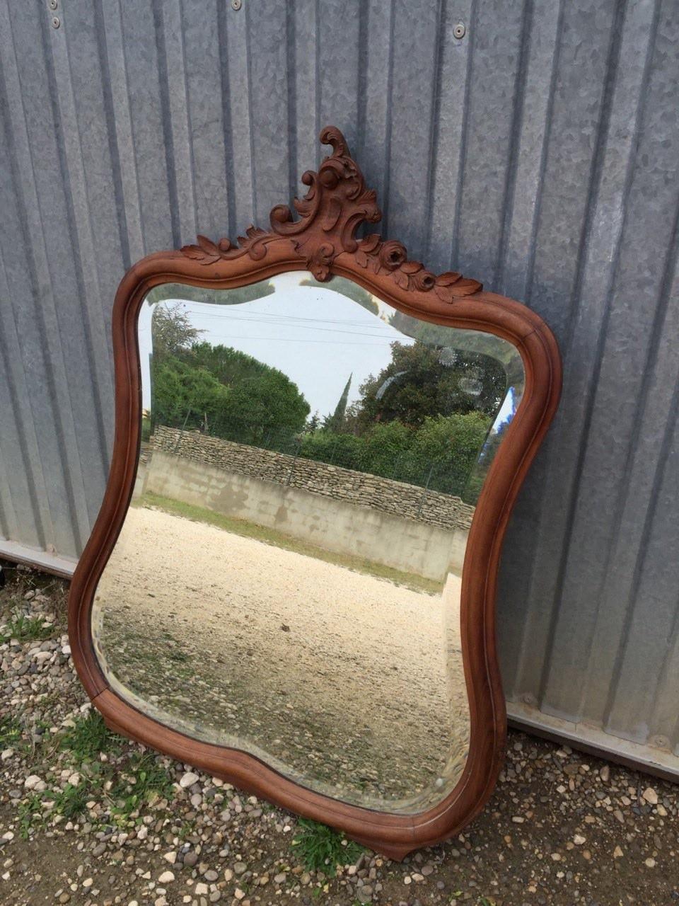 Антикварное зеркало в стиле Рококо 151004001