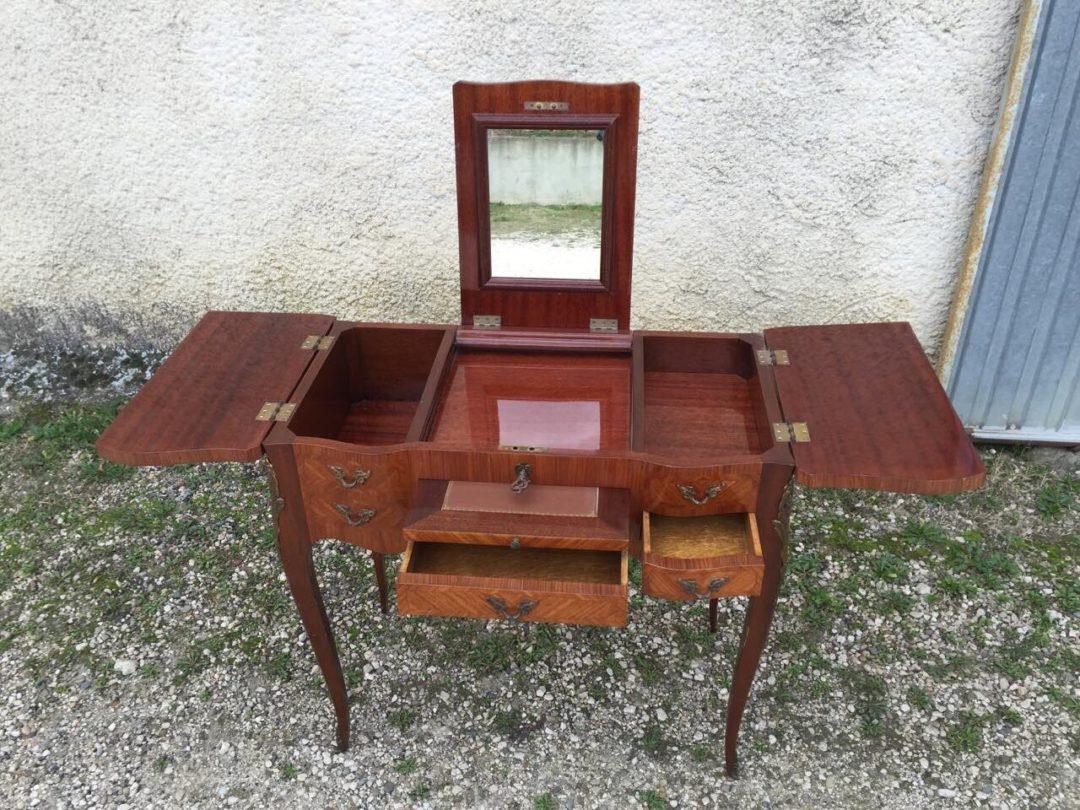 Старинный дамский столик в стиле Луи XV 151120002