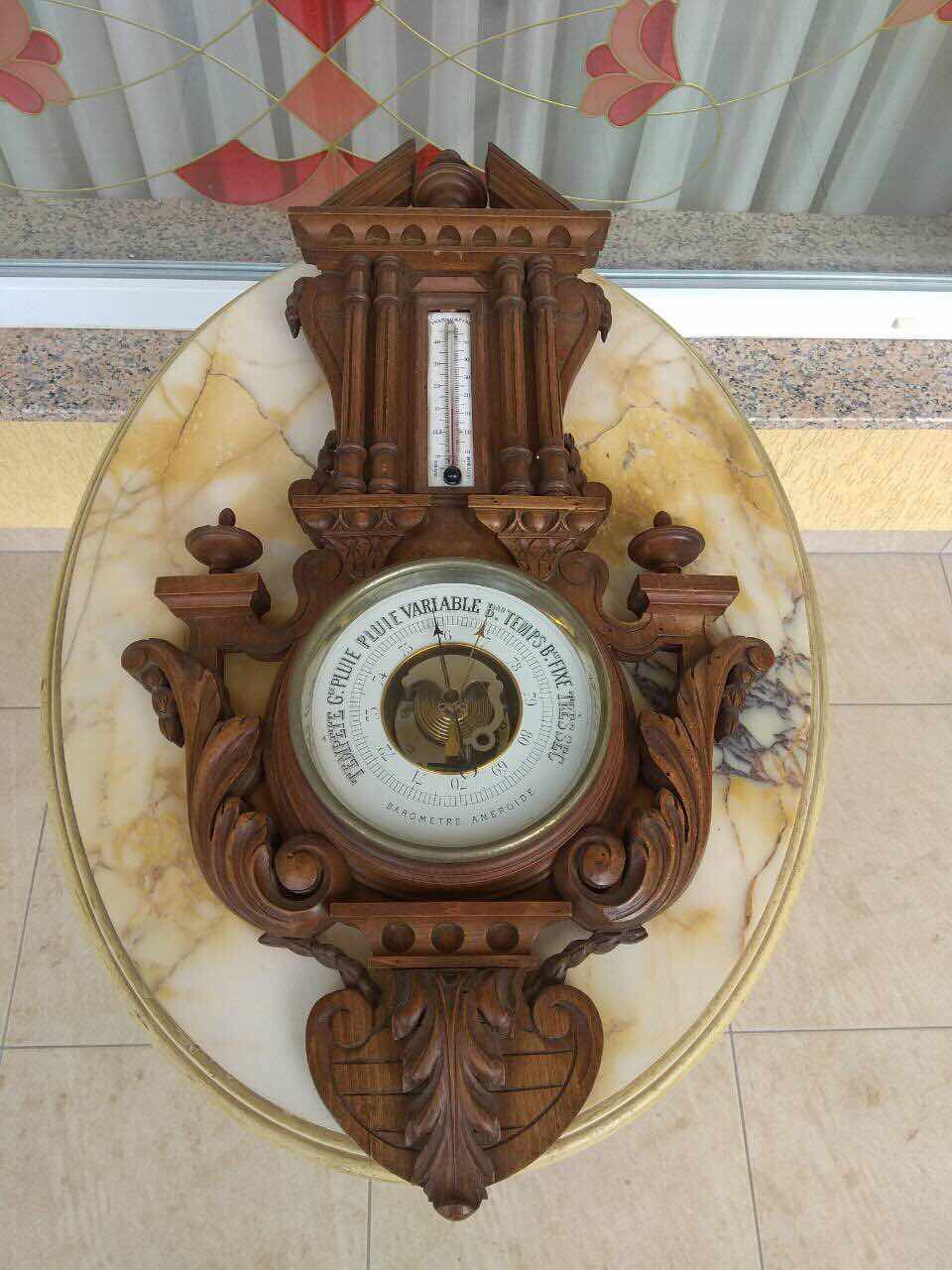 Антикварный барометр 171210021