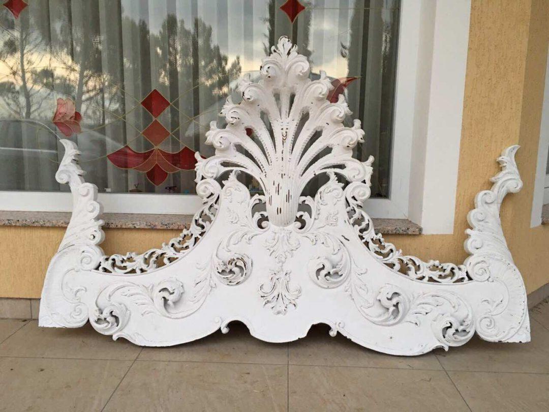 Антикварное изголовие для кровати в стиле Ренессанс 171018002
