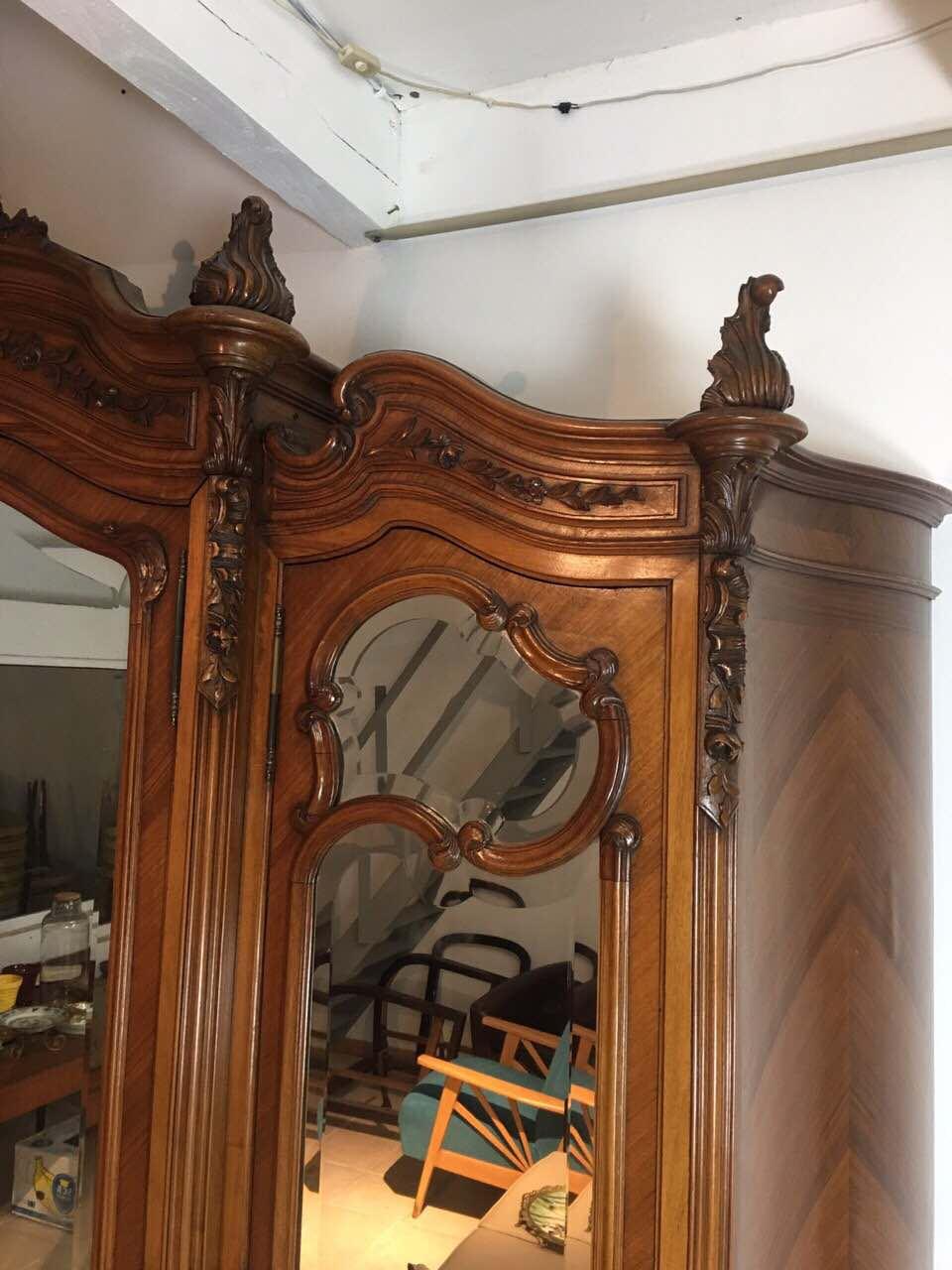Антикварная мебель: шкаф в стилем Рококо 1711260001