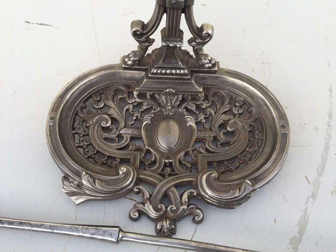 Антикварный набор для камина в стиле Ренессанс 171120003
