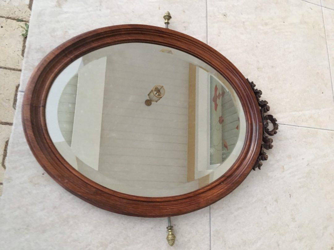 Антикварное зеркало в деревянной раме 171018060