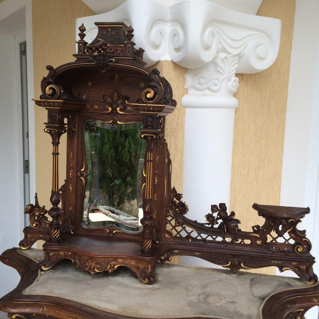 Старинный салон в стиле Барокко