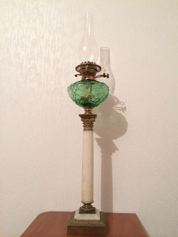 Старинная керосиновая лампа 140831081