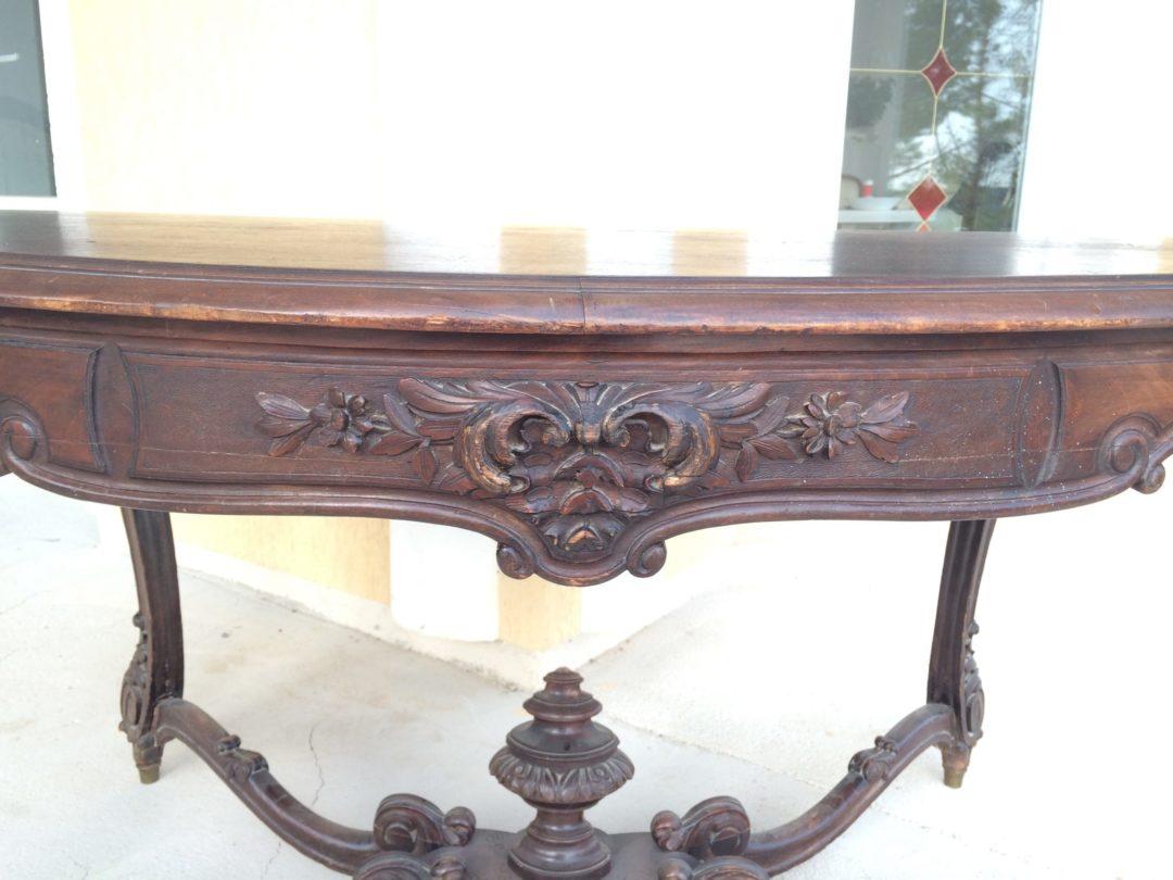 Старинный дубовый стол 150706003