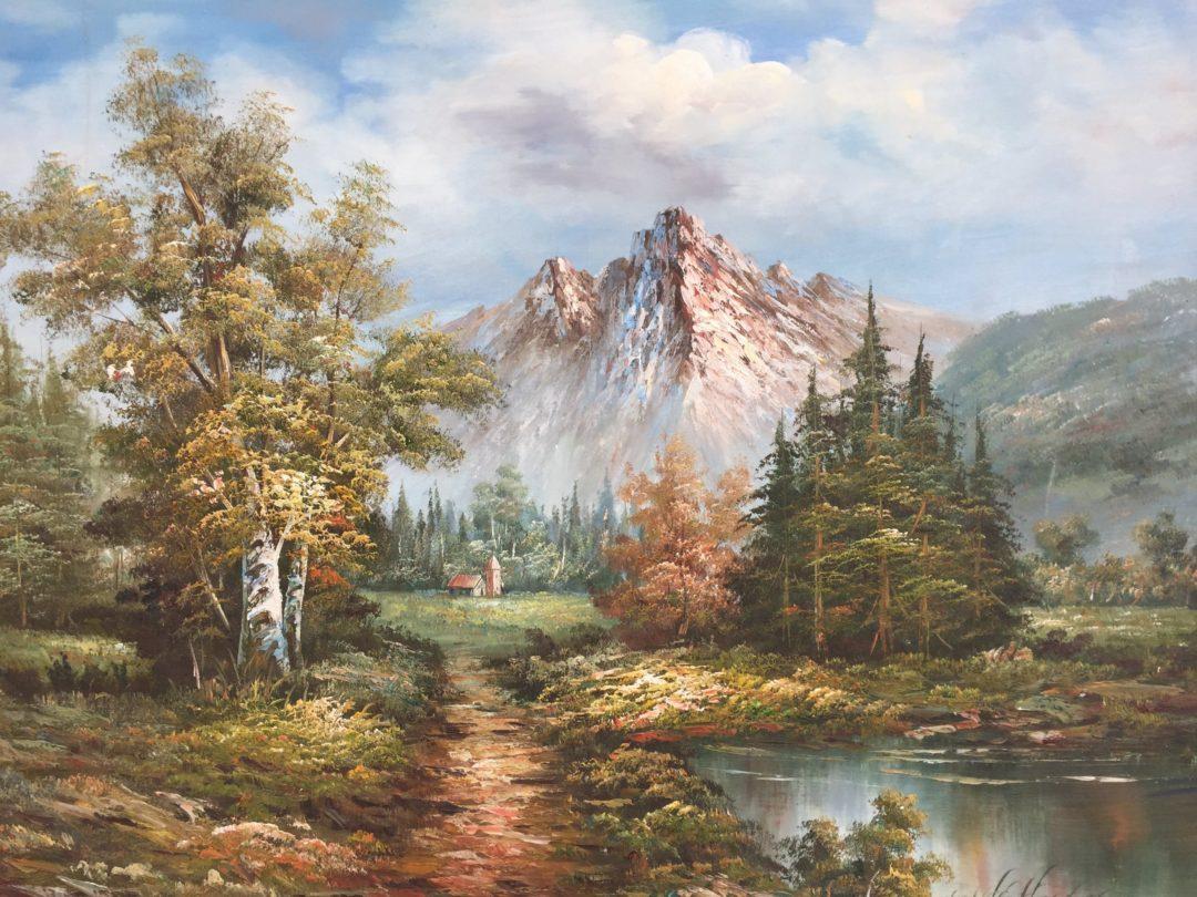 Старинная картина