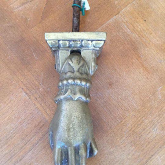 Антикварная стучалка для дверей из бронзы