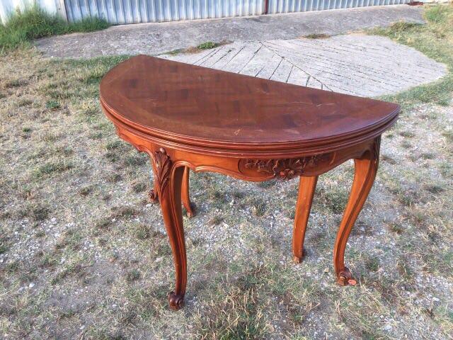 Старинный стол-консоль в стиле Прованс 20170701080