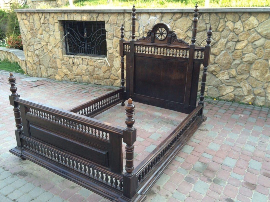 Старинная кровать в стиле Бретон150607003