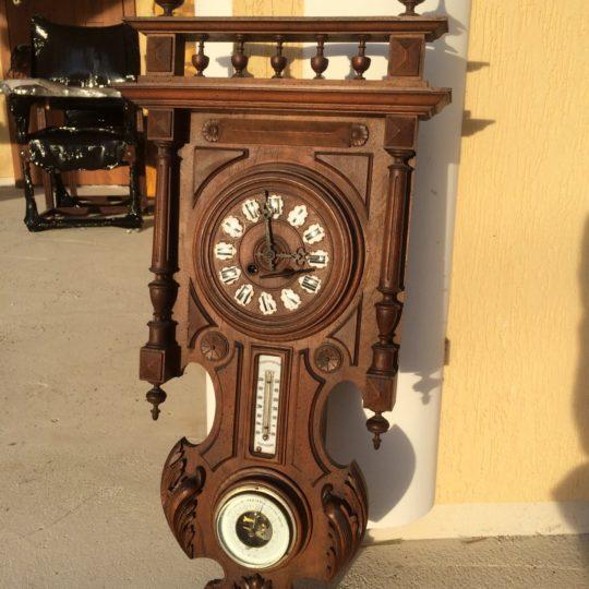 Старинные часы / барометр / термометр