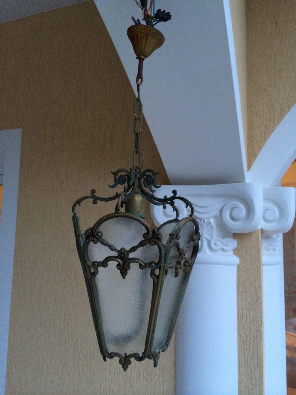 Старинный светильник