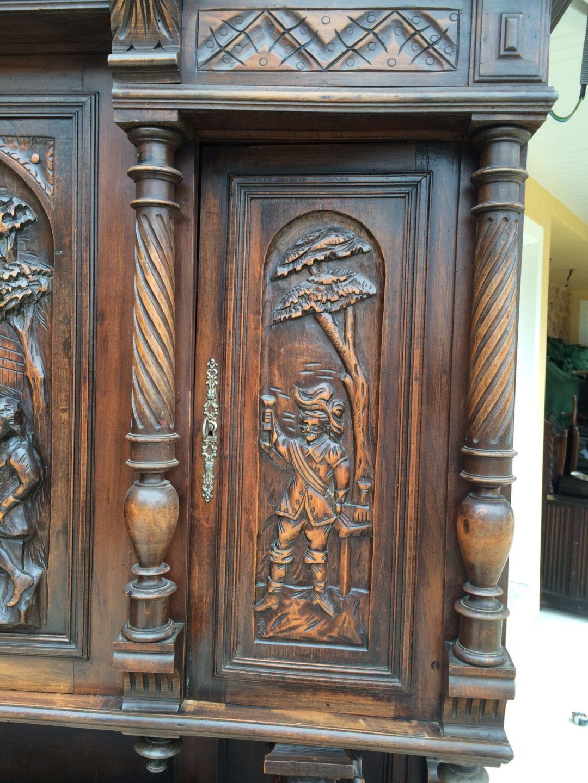 Старинный буфет в стиле Ренессанс 141201004