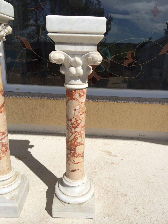 Старинные мраморные колонны