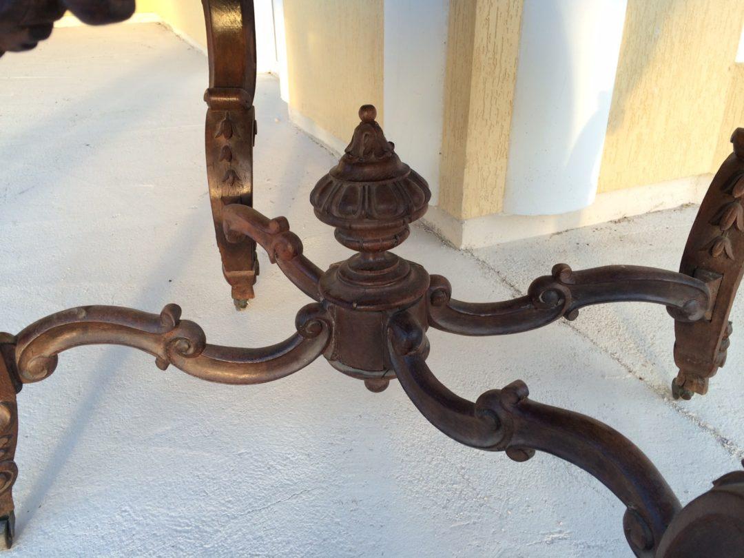 Старинный геридон в стиле Наполеон150105006