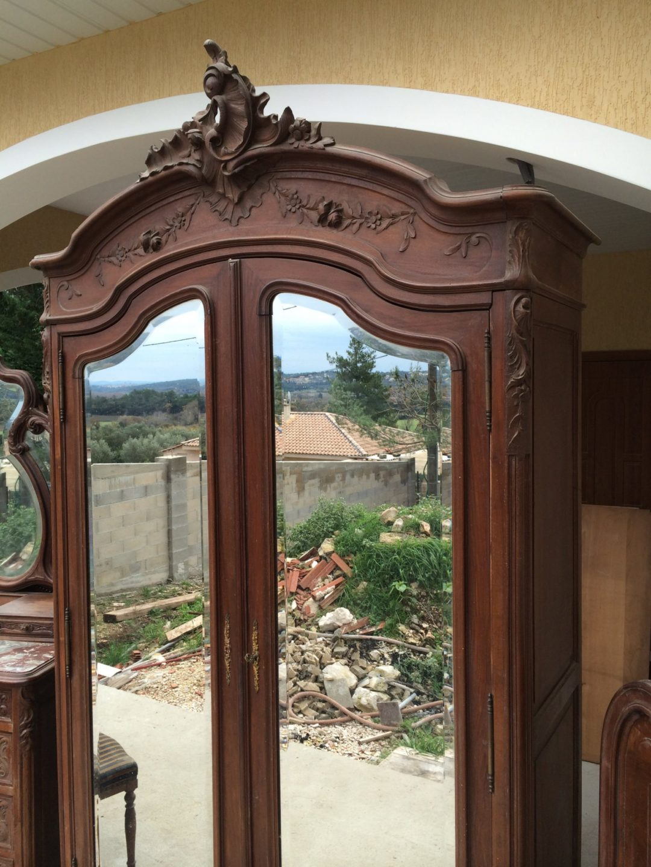 Старинный шкаф в стиле Рококо 141209003