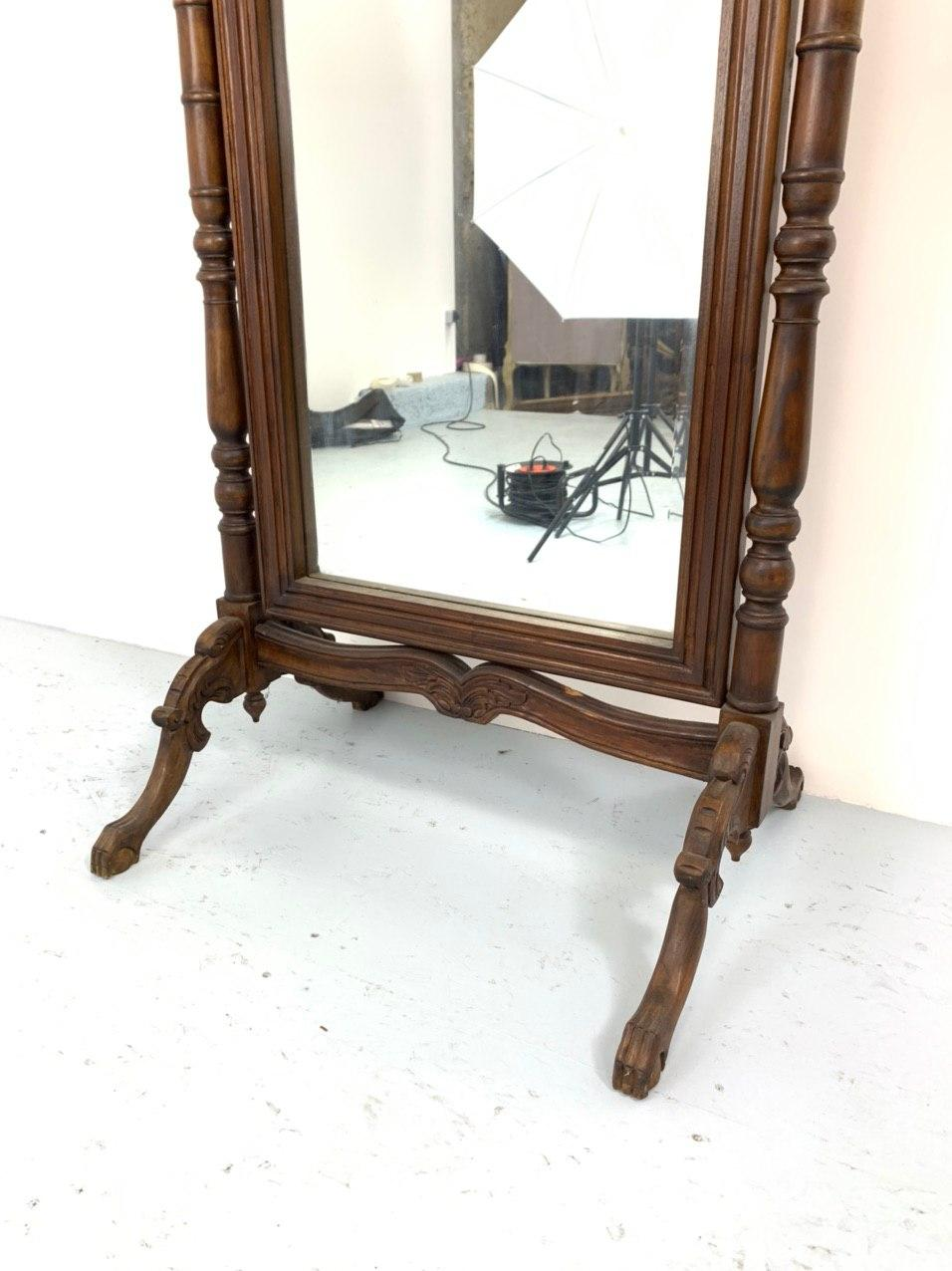 Антикварное зеркало-псише 191031044У