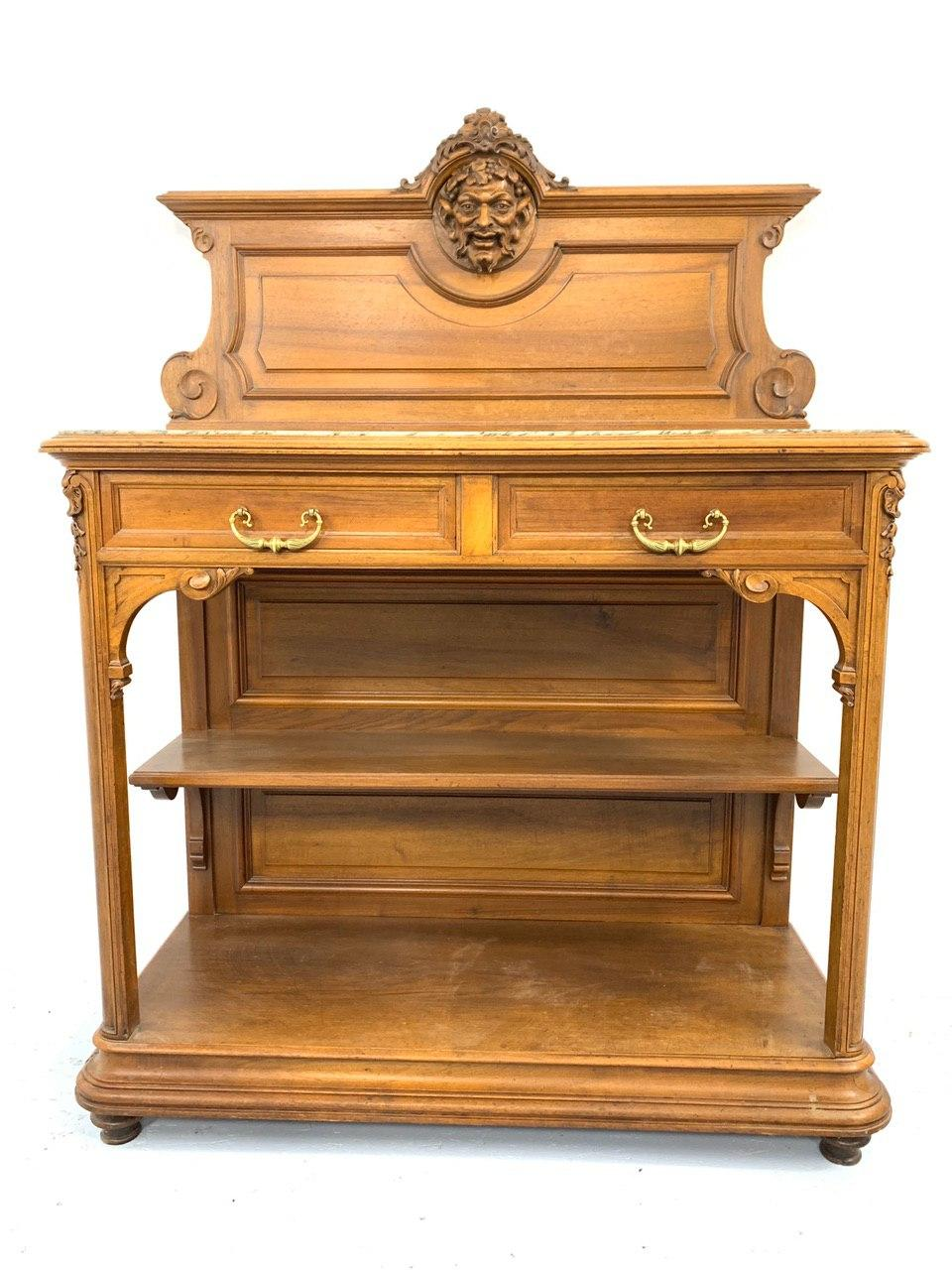 Антикварный посудник в стиле Генрих 191216004У