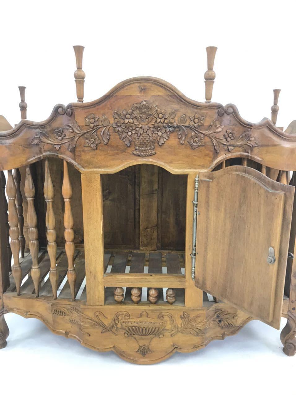 Антикварный шкафчик-хлебница в стиле Прованс 180626002У