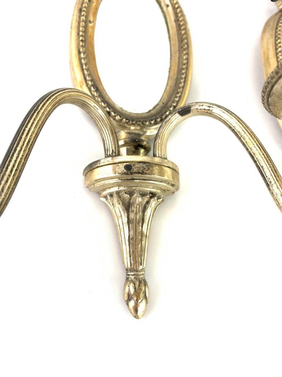 Антикварные бра в стиле Луи XVI