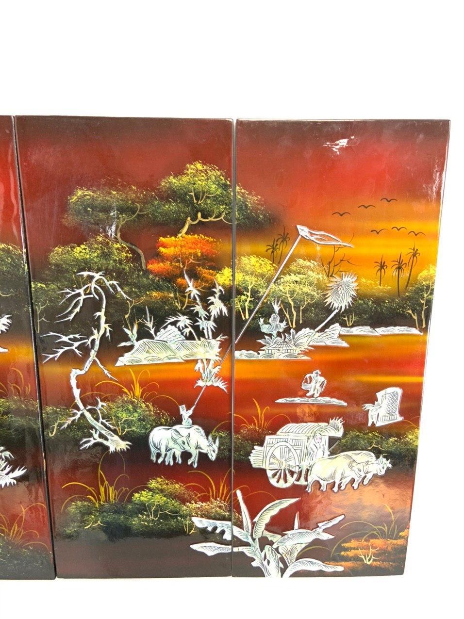 Винтажные декоративные панно в стиле Шинуазри