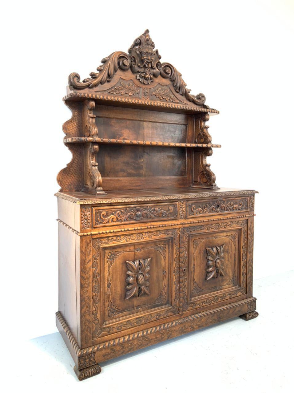 Антикварный посудник в стиле Генриха ІІ