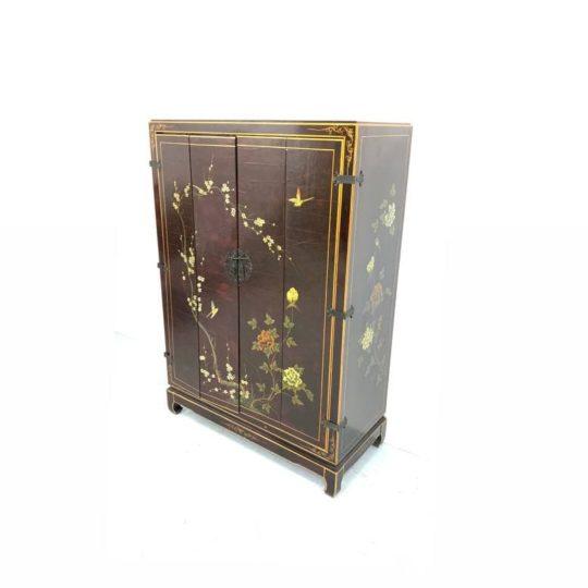 Антикварный шкафчик в стиле Шинуазри