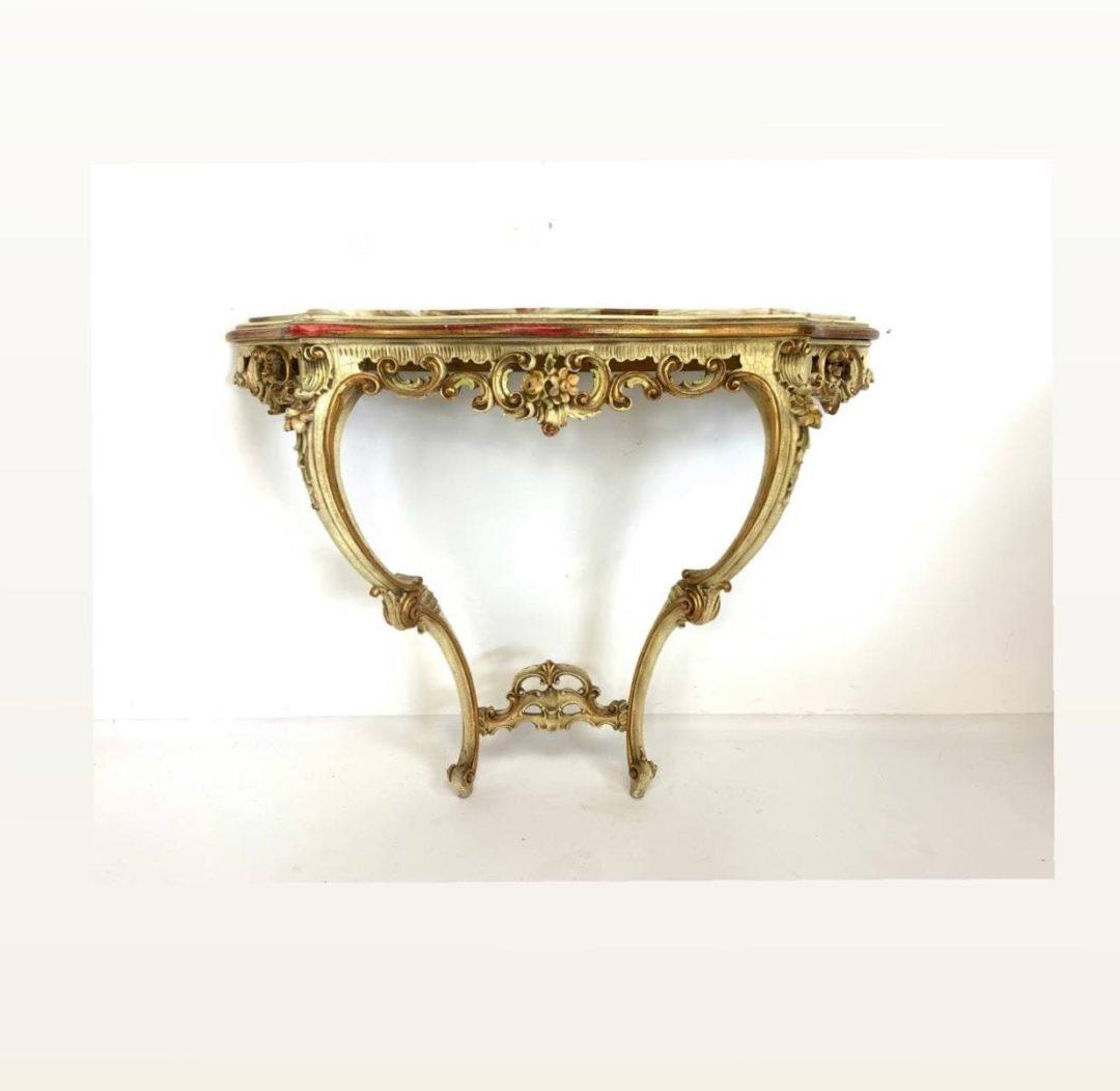 Винтажная консоль в Венецианском стиле