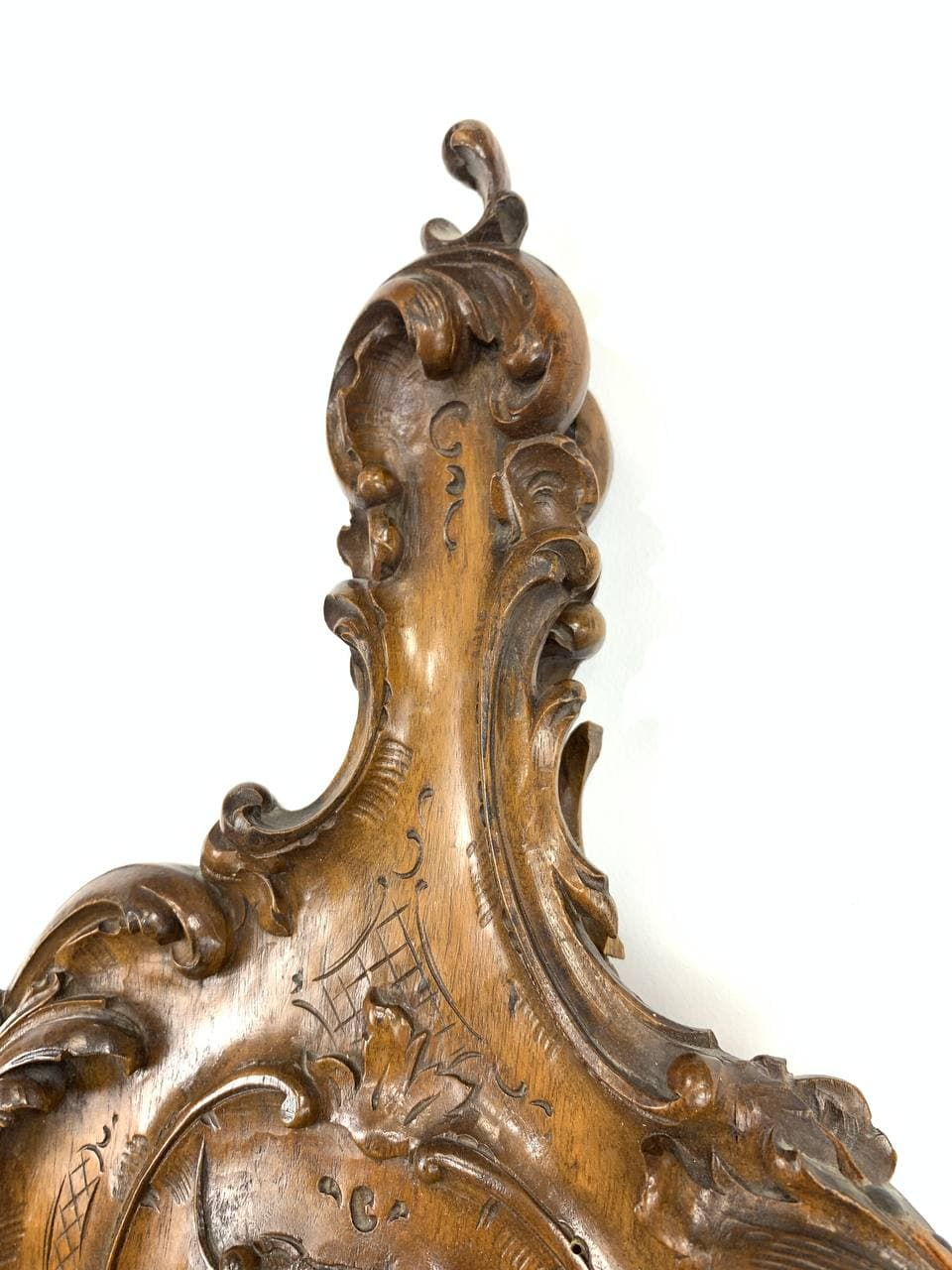 Антикварный кузнечный мех для камина