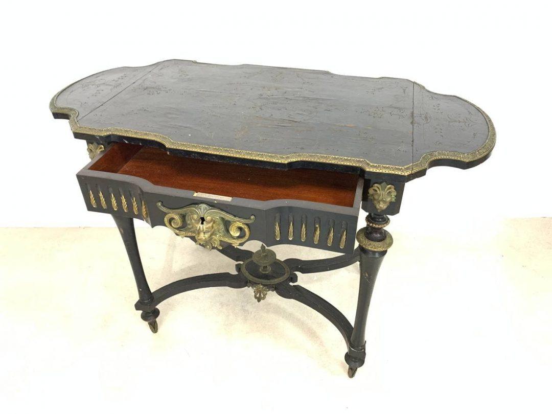 Антикварный раскладной столик эпохи Наполеона ІІІ